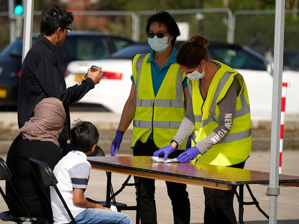 Coronavirus rates are surging in Bolton, where walk-in testing centres are busy (Getty Images)