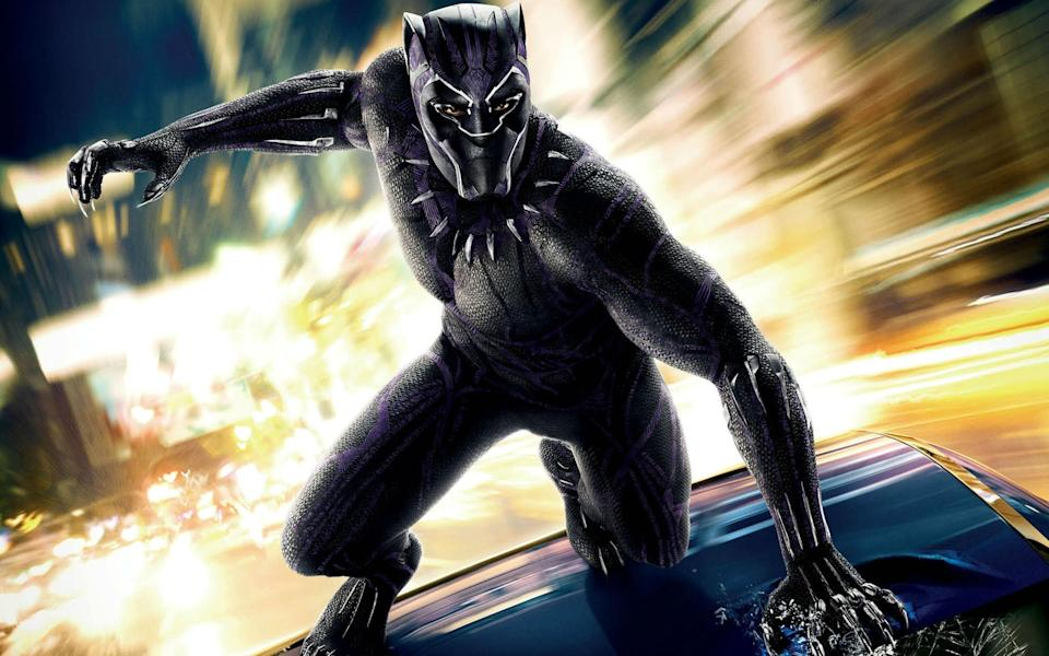 'Black Panther' breaks British box office record