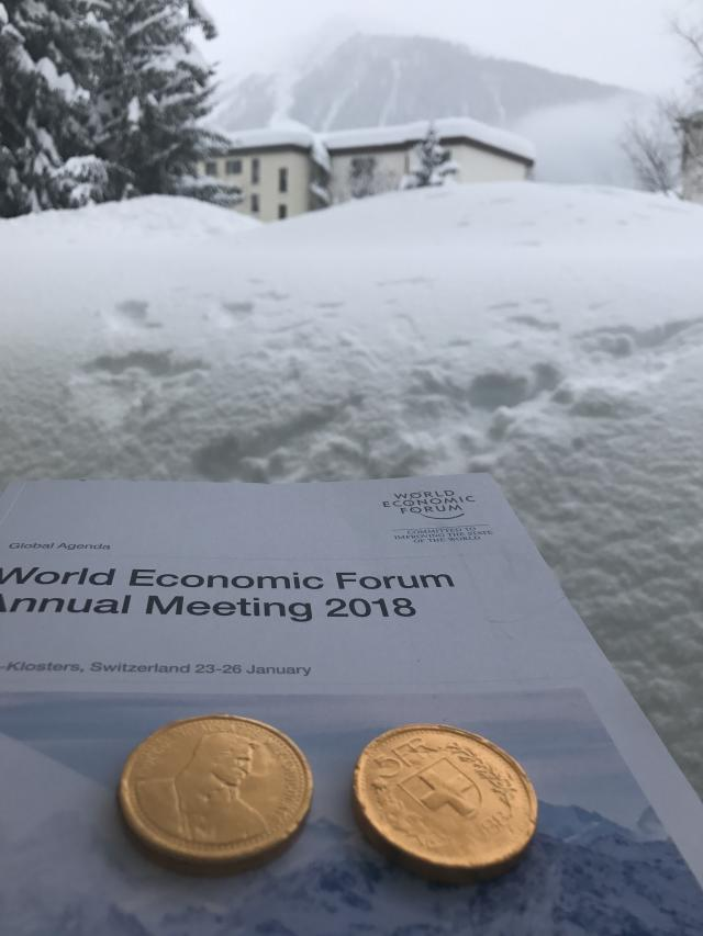 From the 2018 World Economic Forum in Davos.