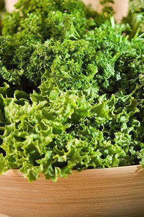 This popular leafy green is a major source of vitamin K (one cup cooked contains almost 12 times your recommended daily value), which may help ward off heart disease and osteoporosis. Ask for Winterbor kale at your local farmers' market--in addition to vitamin K, this variety contains high levels of fiber, which can help lower blood pressure and cholesterol levels.