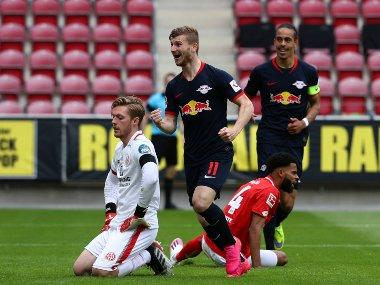 Bundesliga: Timo Werner scores hat-trick as RB Leipzig rout Mainz; Schalke's crisis deepens with Augsburg defeat