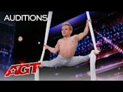"<p>Alan truly soared to new heights while doing an aerial routine to the Sia song ""Alive"" for his season 15 audition. At the conclusion of his performance, Sofía told him, ""that was the performance of a giant.""</p><p><strong>RELATED: </strong><a href=""https://www.goodhousekeeping.com/life/entertainment/a32982671/agt-2020-alan-silva-contestant-true-story/"" rel=""nofollow noopener"" target=""_blank"" data-ylk=""slk:What AGT Didn't Reveal About Alan Silva's Past"" class=""link rapid-noclick-resp"">What <em>AGT </em>Didn't Reveal About Alan Silva's Past</a></p><p><a href=""https://www.youtube.com/watch?v=B6BG8qvaaMs&t=206s"" rel=""nofollow noopener"" target=""_blank"" data-ylk=""slk:See the original post on Youtube"" class=""link rapid-noclick-resp"">See the original post on Youtube</a></p>"