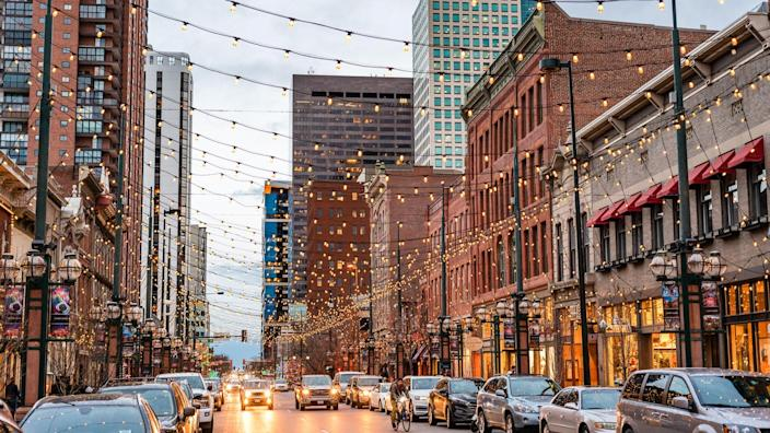 Larimer street is a tourism highlight and worth a visit during the night time.