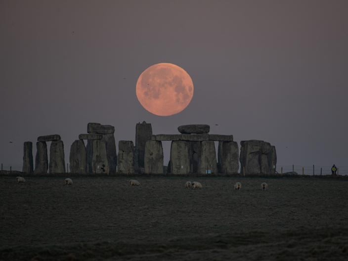 The Stonehenge monument has been standing for about 5,000 years (Getty Images)