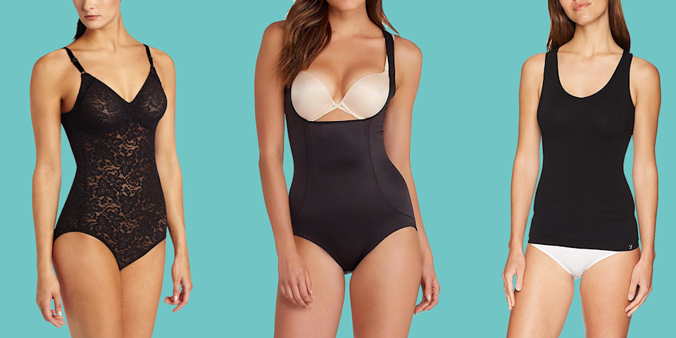 "<p>Shapewear can help you look and feel your best, but it needs to be able to smooth while still feeling comfortable. With so many styles to choose from, it's hard to know which ones <em>actually</em> offer tummy control or can help slim love handles, muffin tops, and more. </p><p>These must-haves, picked by the <a href=""https://www.goodhousekeeping.com/institute/about-the-institute/a19748212/good-housekeeping-institute-product-reviews/"" rel=""nofollow noopener"" target=""_blank"" data-ylk=""slk:Good Housekeeping Institute Textiles Lab"" class=""link rapid-noclick-resp"">Good Housekeeping Institute Textiles Lab</a>, offer something for everyone regardless of your target areas or style preferences. While you're shopping, don't miss our <a href=""https://www.goodhousekeeping.com/clothing/bra-reviews/g164/best-bras-for-large-busts/"" rel=""nofollow noopener"" target=""_blank"" data-ylk=""slk:best bras for large busts"" class=""link rapid-noclick-resp"">best bras for large busts</a> to keep the ladies in check and <a href=""https://www.goodhousekeeping.com/beauty/fashion/g2340/bathing-suits-for-body-types/"" rel=""nofollow noopener"" target=""_blank"" data-ylk=""slk:best slimming swimsuits"" class=""link rapid-noclick-resp"">best slimming swimsuits</a>.</p>"