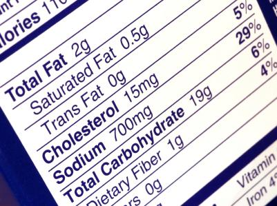 """<div class=""""caption-credit""""> Photo by: istockphoto</div><div class=""""caption-title""""></div><b>Check the label.</b> <ul>   <li>Use the Nutrition Facts Label to check the sodium in packaged foods. Try to choose products with 5% Daily Value (DV) or less. A sodium content of 20% DV or more is high.   </li>   <li>Look for foods labeled """"low sodium,"""" """"reduced sodium,"""" or """"no salt added.""""   </li> </ul> <p>   <b><a rel=""""nofollow"""" href=""""http://wp.me/p1rIBL-18f"""">The Good, The Bad, and The Ugly Aspects of Cholesterol</a></b> </p> <p>   <b><a rel=""""nofollow"""" href=""""http://wp.me/p1rIBL-181"""">Make Your Diet An Anti-Snoring Diet</a></b> </p> <p>   <b><a rel=""""nofollow"""" href=""""http://wp.me/p1rIBL-17X"""">Juicing Tips For Everyone From The Beginner To The Pro</a></b> </p>"""