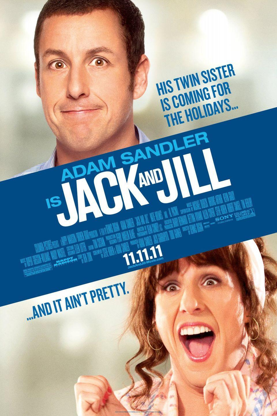 <p><strong>Role: </strong>Jack Sadelstein / Jill Sadelstein<br></p><p>Adam Sandler as a man is pretty insufferable. Now, throw on a wig, some makeup, and his incredibly broad concepts of femininity and womanhood, and you get what is possibly a masterclass in misogyny! <br></p>