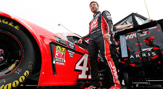 DAYTONA BEACH, FL - FEBRUARY 10: Daniel Suarez, driver of the #41 Haas Automation Ford, stands on the grid during qualifying for the Monster Energy NASCAR Cup Series 61st Annual Daytona 500 at Daytona International Speedway on February 10, 2019 in Daytona Beach, Florida. (Photo by Jonathan Ferrey/Getty Images) | Getty Images