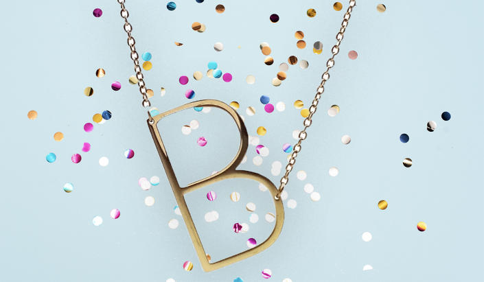 All letters are still available. (Photo: Nordstrom Rack)