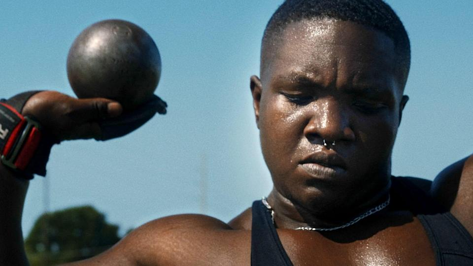 """Raven Saunders her new mini-documentary, """"An Olympic Athlete Takes on Depression."""" (WETA/Well Beings)"""
