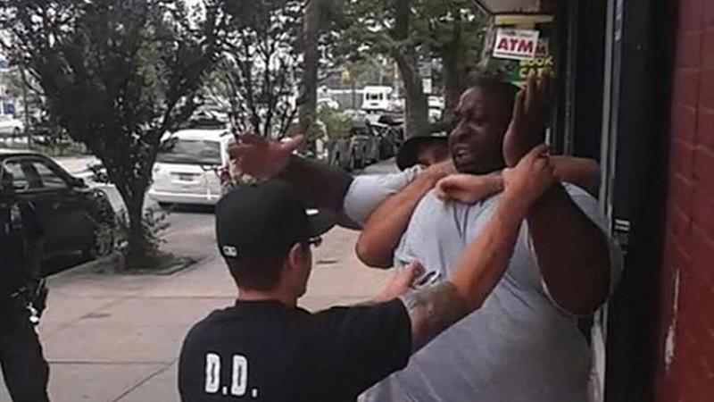 MAN WHO RECORDED NYPD CHOKEHOLD ARRESTED