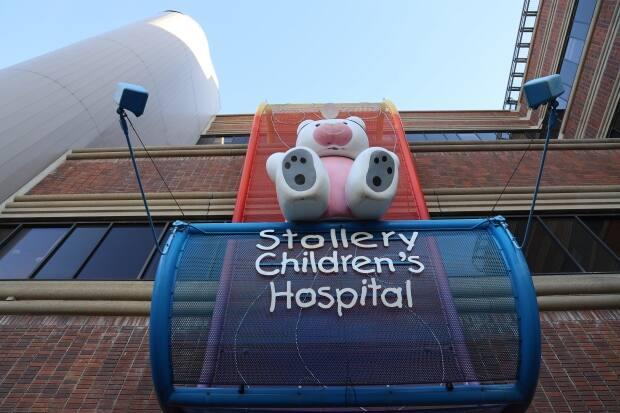 The Stollery Children's Hospital is currently located within the University of Alberta Hospital, but a feasibility study will determine if it should be a stand-alone facility. (Peter Evans/CBC - image credit)