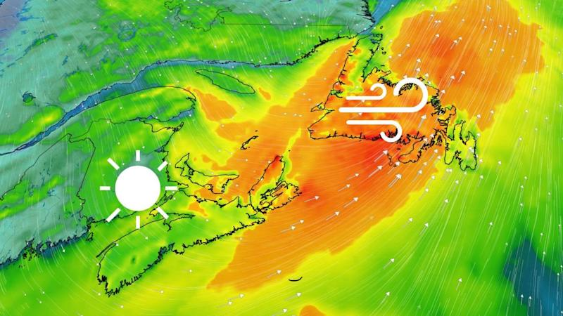Howling winds up to 90 km/h, rain and storm threat shifts to Newfoundland