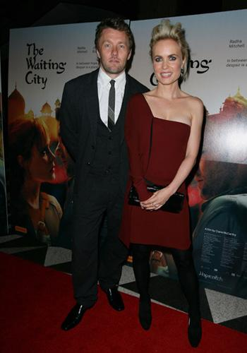 """<p>Joel Edgerton and Radha Mitchell arrive at the premiere of """"The Waiting City"""" at Dendy Opera Quays on July 5, 2010 in Sydney, Australia.</p>"""