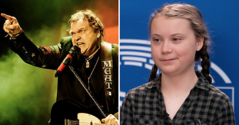 Greta Thunberg claps back at Meat Loaf with scientific facts