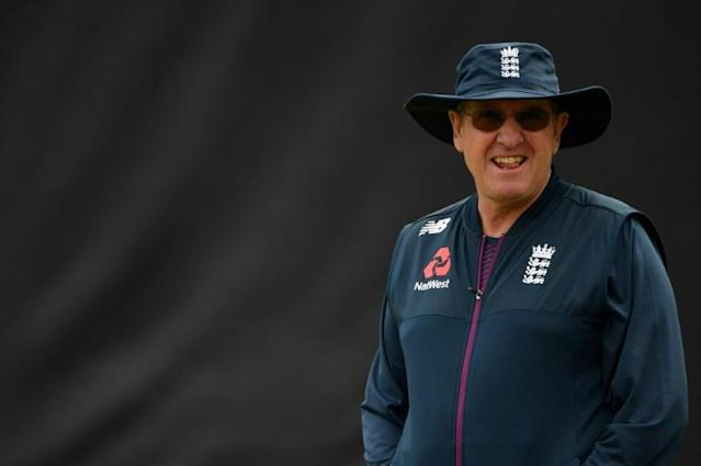 England's World Cup-winning head coach Trevor Bayliss will take charge of Sunrisers Hyderabad in the IPL next year (AFP Photo/Paul ELLIS)
