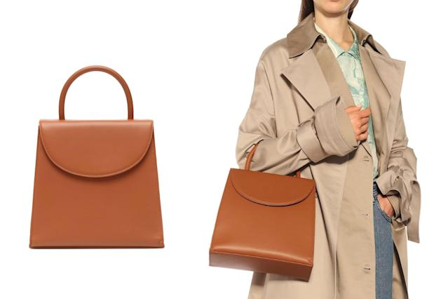 BY FAR Tamara leather tote