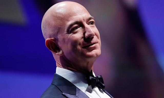 Amazon has been enjoying a strong holiday shopping season, helping boost the fortunes of CEO Jeff Bezos, the world's richest person.