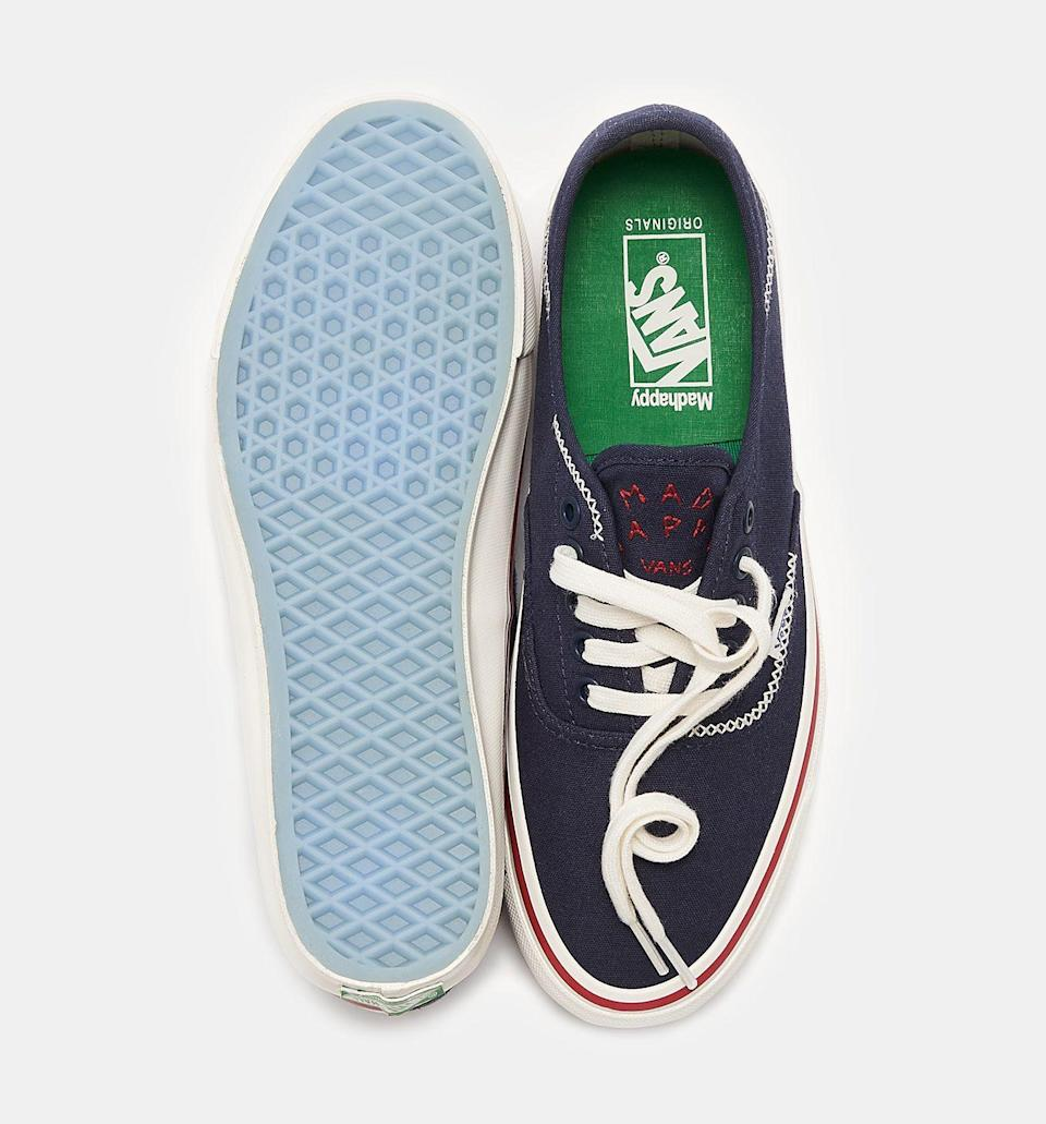 A top-down view of the Madhappy x Vans OG Style 43 LX. - Credit: Courtesy of Vans
