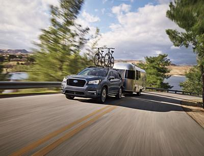 2021 Subaru Ascent Adds Safety, Connectivity for Competitive Price (CNW Group/Subaru Canada Inc.)