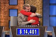 """<p>If competing for prize money by having to answer riddled questions wasn't hard enough, contestants are expected to do so <a href=""""https://better.net/arts-events/movies-tv/jeopardy-heres-actually-happens-behind-scenes/"""" rel=""""nofollow noopener"""" target=""""_blank"""" data-ylk=""""slk:in front of a 200-person audience"""" class=""""link rapid-noclick-resp"""">in front of a 200-person audience</a> — oh, plus the host. People with stage fright need not apply!</p>"""