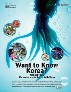 Want to know Korea? Poster