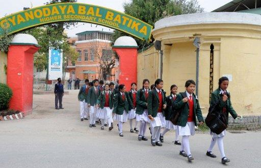 One of Nepal's top private schools has opened its doors for 20 children, rescued seven years ago