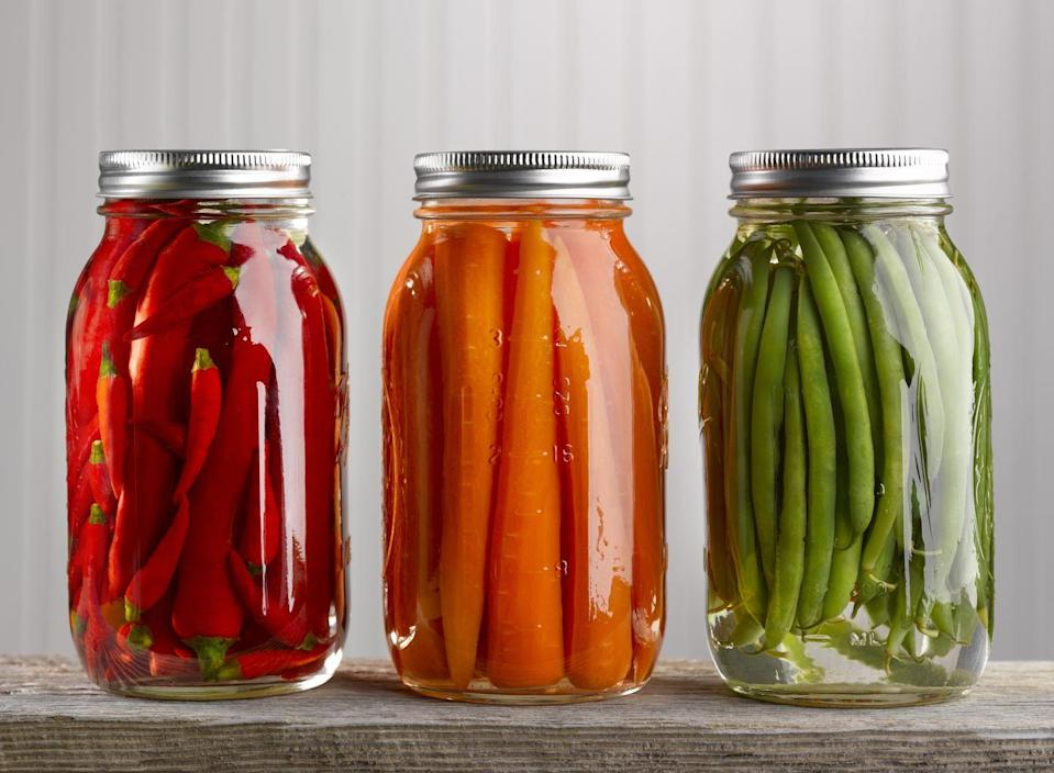 <p>Canning and pickling is another way to extend their life. Look up what you can pickle - it's a ton of fresh vegetables, and it's super easy. It's also more interesting to eat and can add a lot to your meals. </p>