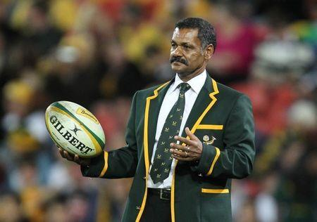 FILE PHOTO: Rugby Union - Australia v South Africa Tri Nations 2010 - Suncorp Stadium, Brisbane, Australia - 24/7/10 South Africa's coach Peter de Villiers Action Images / Jason O'Brien Livepic