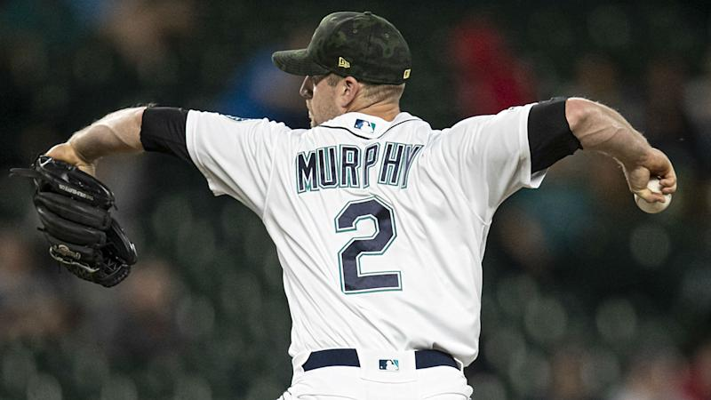 Tom Murphy looking like a two-way threat after perfect mound work for Mariners