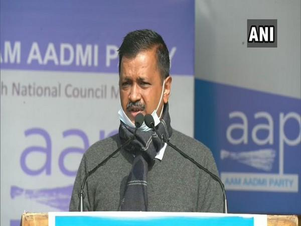 Arvind Kejriwal re-elected as AAP National Convenor for third consecutive time [File Photo/ANI]