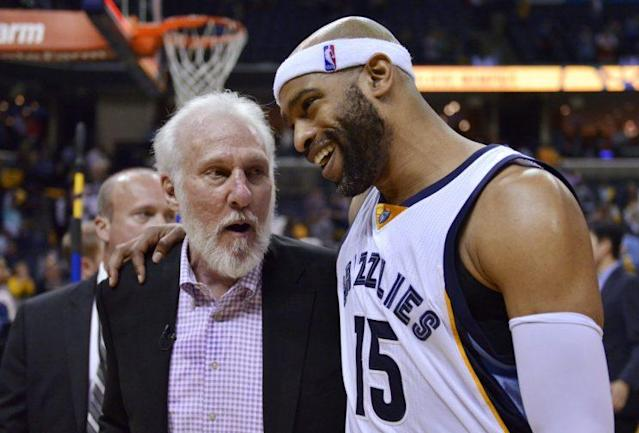 "<a class=""link rapid-noclick-resp"" href=""/nba/players/3248/"" data-ylk=""slk:Vince Carter"">Vince Carter</a> won't be talked into retirement. (AP)"