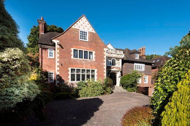This eight-bedrom property on Courtenay Avenue, in Highgate, London is currently available on Zoopla for £17m. (Zoopla)