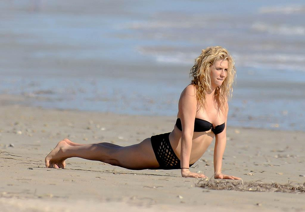 "On Tuesday, Ke$ha took a break from her ""Get Sleazy"" tour to soak up some sun on a beach in Adelaide, Australia. Scope Australia/<a href=""http://www.PacificCoastNews.com"" target=""new"">PacificCoastNews.com</a> - March 15, 2011"