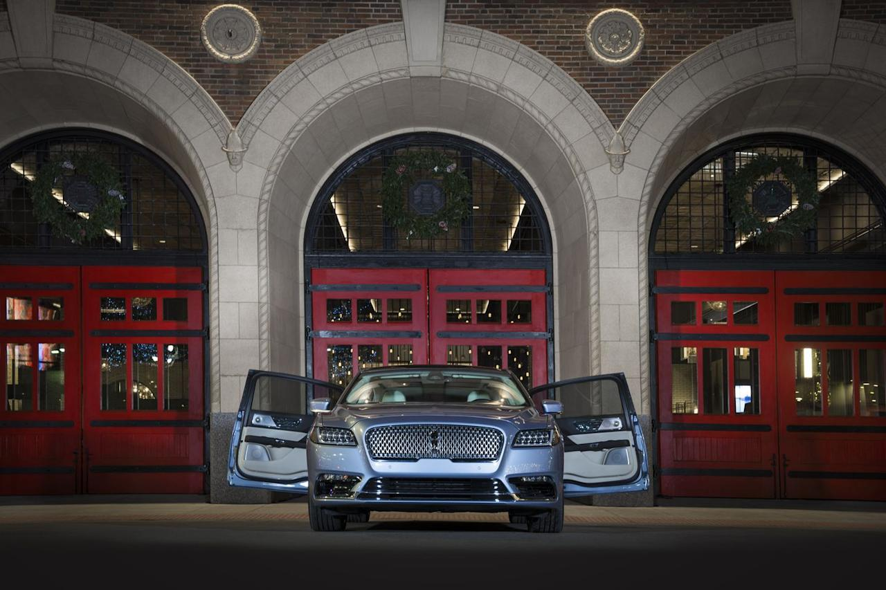 <p>While the new Continental Coach Door Edition isn't quite <em>that</em> special, it is now the only sedan this side of a Rolls-Royce you can buy with this unusual door arrangement.</p>
