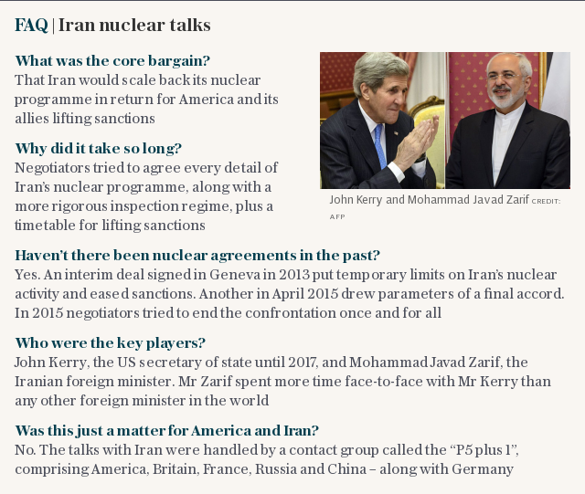 FAQ | Iran nuclear talks