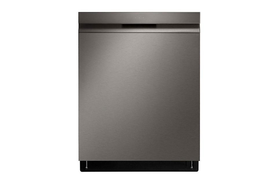 """<p>LG</p><p><strong>$779.00</strong></p><p><a href=""""https://www.lg.com/us/dishwashers/lg-ldp6810bd-top-control-dishwasher"""" rel=""""nofollow noopener"""" target=""""_blank"""" data-ylk=""""slk:Shop Now"""" class=""""link rapid-noclick-resp"""">Shop Now</a></p><p>They've been extra-good this year, so give them the gift that keeps on giving: a swanky dishwasher. This new model from LG is ideal for the hostess with the mostess or home chef whose dishwasher has been through the ringer this year. </p>"""