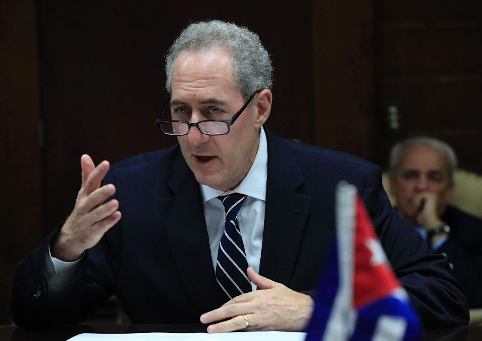 """US Trade Representative Michael Froman has warned that scrapping the TPP would have """"serious"""" strategic and economic costs (AFP Photo/Enrique De La Osa)"""