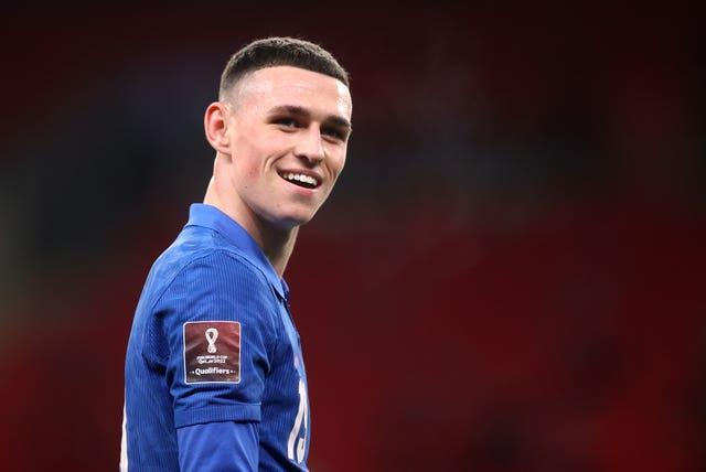 Phil Foden has impressed on his early outings for England.