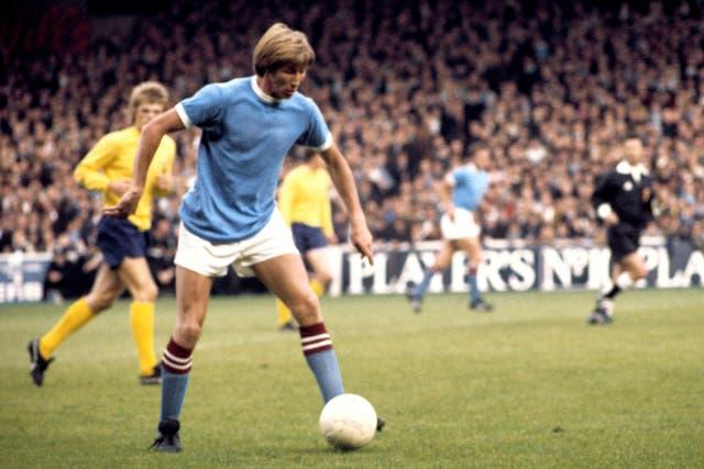 Colin Bell spent 13 years as a Manchester City player
