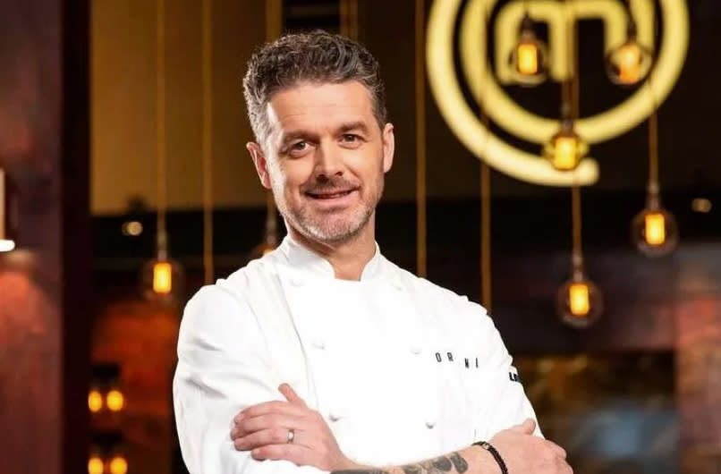 MasterChef's Jock Zonfrillo has suffered a medical emergency on set of the new season. Photo: Channel 10.