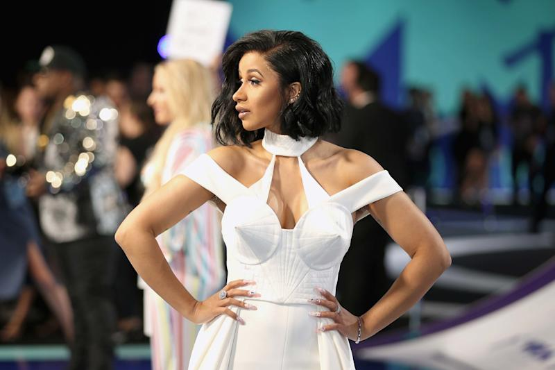 At the MTV Video Music Awards, August 2017