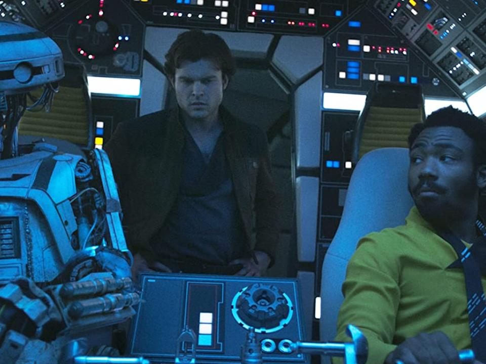 """The """"Star Wars"""" spinoff introduced us to a young Han and Lando."""