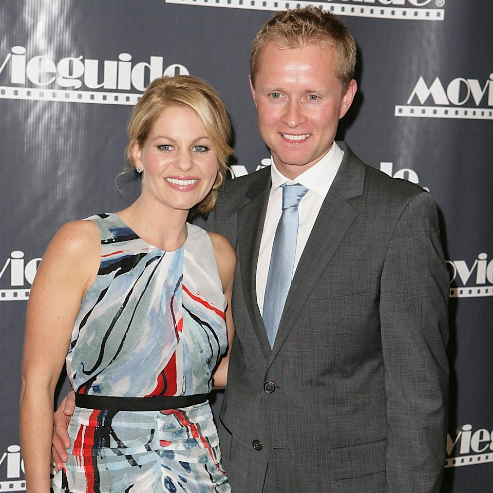 """<p>The <i>Full House</i> star, 41, opened up about her two-decades-long marriage to hockey player Bure, 43, in her book, <i>Balancing It All: My Story of Juggling Priorities and Purpose</i>, where she wrote about taking more of a """"submissive"""" role in their relationship. The statement caused a bit of controversy, and prompted the actress to clarify her quotes on <i>HuffPost Live</i>. """"Listen, I love that my man is a leader. I want him to lead and be the head of our family and those major decisions do fall on him,"""" Cameron Bure said. """"It doesn't mean I don't voice my opinion and it doesn't mean I don't have an opinion — I absolutely do but it is very difficult to have two heads of authority,"""" the mother of three teens admitted. """"It doesn't work ... And when you're competing with two heads that can pose a lot of problems or issues. So within my marriage we are equal in our importance,"""" she said before pausing, taking a moment to carefully chose her wording, """"But we are different in our performances in our marriage.""""</p>"""