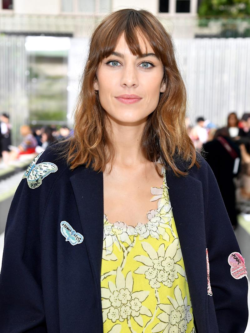 The One Thing Alexa Chung Does to Her Hair Every Day advise