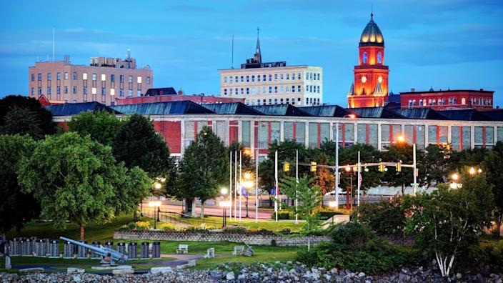 Lewiston is a city in Androscoggin County in Maine, and the second-largest city in the state.