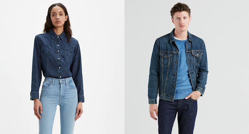 Stock up on fall denim must-haves with Levi's sale.