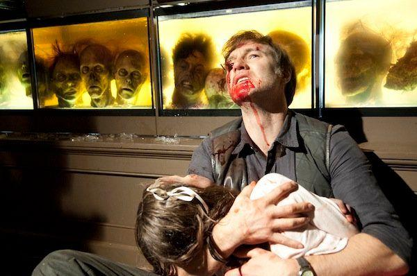 <em>Two chomps</em> I have to be honest: I wanted the Governor to take command of this show, and David Morrissey has been capable in the role, but overall the character is a less charismatic figure than I'd hoped. Morrissey's wandering accent is a distraction, his sentimental attachment to his daughter is offset by those grisly heads, and this may be a nitpick, but I lost some respect for the Governor when he said he'd let the prison re-fill with walkers. Why not use it as a satellite settlement (or his own prison/lab)? In any event, I haven't necessarily disliked the Governor, but he's been less compelling than he could have been. Let's hope he's more memorable when the show returns.