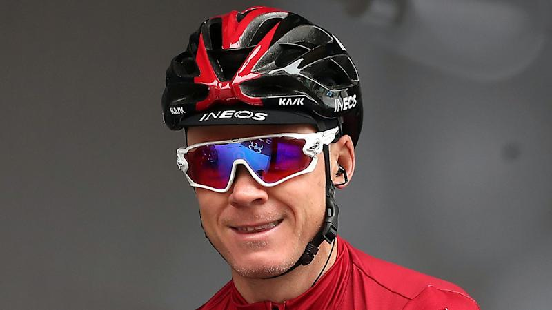 Chris Froome's coping with French test on return to action