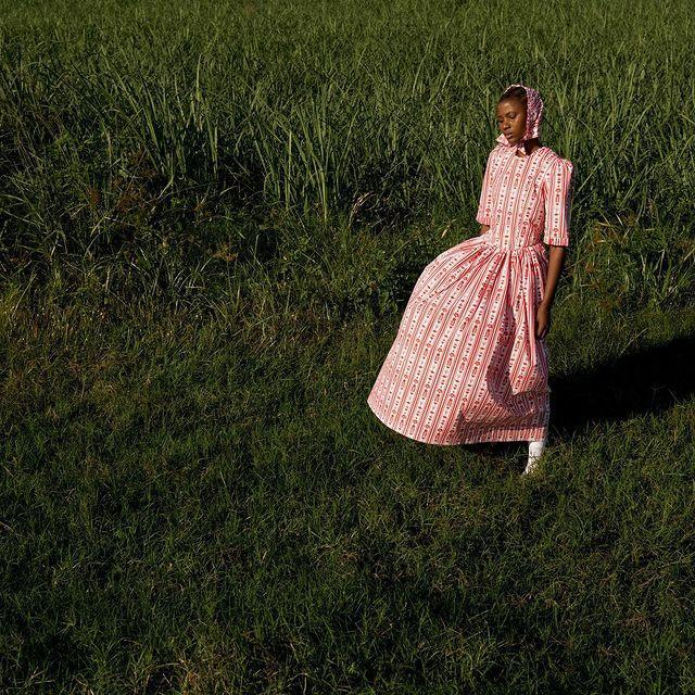 """<p>Who: Sindiso Khumalo</p><p>What: An 'eponymous label with a focus on creating modern sustainable textiles with a strong emphasis on African story telling.'</p><p><a class=""""link rapid-noclick-resp"""" href=""""https://www.sindisokhumalo.com/"""" rel=""""nofollow noopener"""" target=""""_blank"""" data-ylk=""""slk:READ MORE ABOUT SINDISO KHUMALO HERE"""">READ MORE ABOUT SINDISO KHUMALO HERE</a></p><p><a href=""""https://www.instagram.com/p/B_Nd4_9jdIB/"""" rel=""""nofollow noopener"""" target=""""_blank"""" data-ylk=""""slk:See the original post on Instagram"""" class=""""link rapid-noclick-resp"""">See the original post on Instagram</a></p>"""